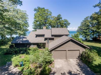 Single Family Home A-Active: 9400 Lake Shore Road