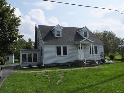 Pembroke NY Single Family Home A-Active: $195,000