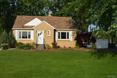 Wheatfield Single Family Home A-Active: 7061 Witmer Road