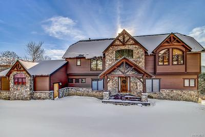 Ellicottville NY Single Family Home A-Active: $825,000