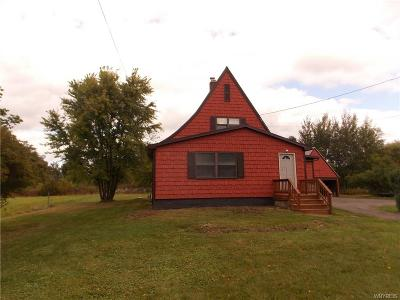 Lewiston Single Family Home A-Active: 2895 Saunders Settlement