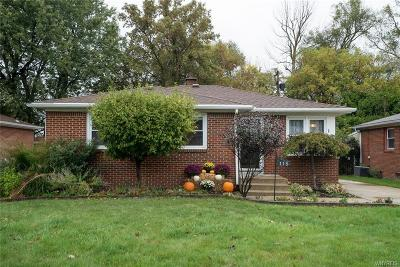 Cheektowaga Single Family Home A-Active: 118 Harvard Avenue