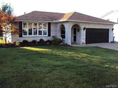 West Seneca Single Family Home A-Active: 76 Round Trail Road