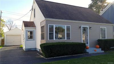 Cheektowaga Single Family Home A-Active: 53 Lucille Drive