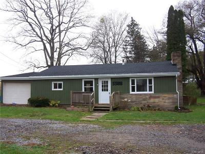 Allegany County, Genesee County, Livingston County, Ontario County, Steuben County, Wyoming County, Yates County Single Family Home A-Active: 5588 Ellicott Street Road