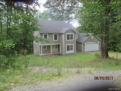 Single Family Home A-Active: 13541 Strykersville Road