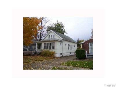 Buffalo Single Family Home A-Active: 132 Wilkes Avenue
