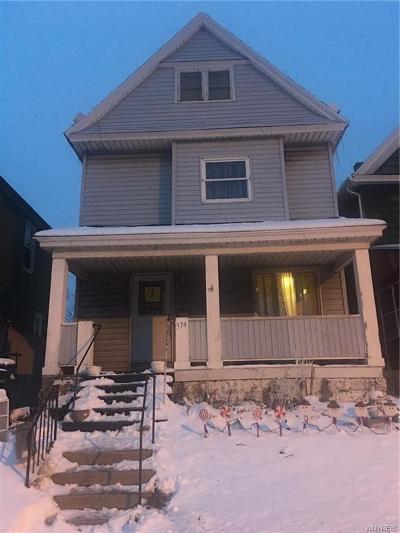 Buffalo Single Family Home A-Active: 374 Hertel Avenue