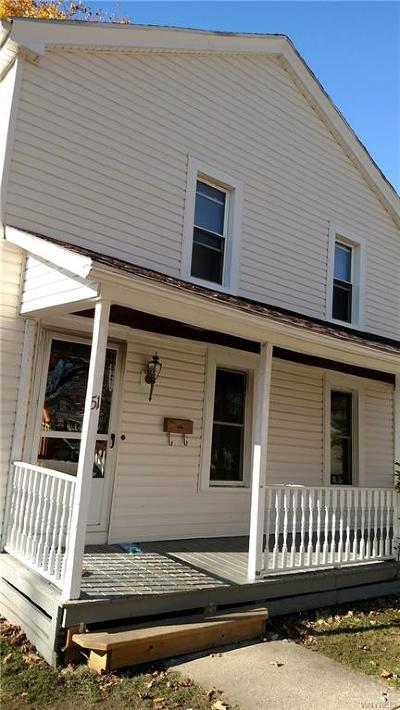 Attica Single Family Home A-Active: 51 Water Street