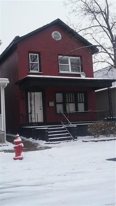 Buffalo Single Family Home A-Active: 249 Whitney Place