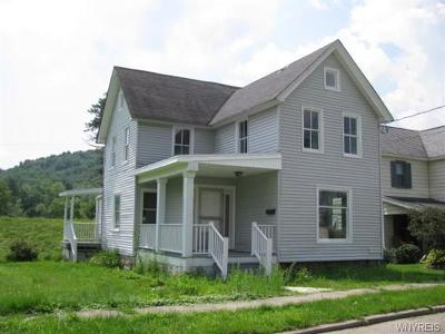 Allegany County, Cattaraugus County Single Family Home A-Active: 1113 Irving Street