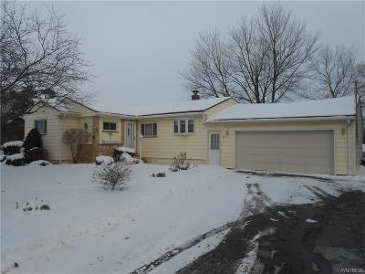 Batavia-City NY Single Family Home A-Active: $129,900