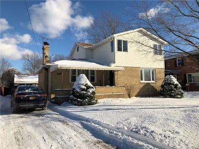 Erie County Single Family Home A-Active: 4895 Harlem Road