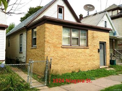 Niagara Falls Single Family Home A-Active: 1924 Niagara Street
