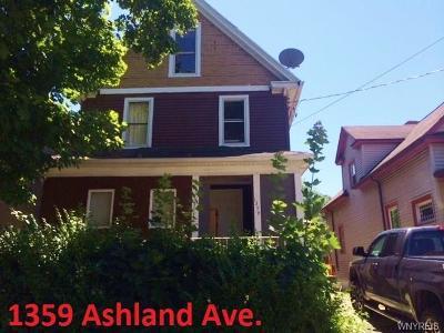 Niagara Falls Single Family Home A-Active: 1359 Ashland Avenue