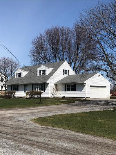 Genesee County Single Family Home A-Active: 8041 East Main Road