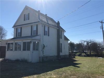 Batavia-City NY Single Family Home A-Active: $134,900
