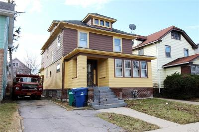 Buffalo NY Single Family Home P-Pending Sale: $79,888