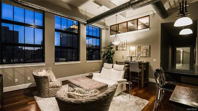 Erie County Condo/Townhouse A-Active: 210 Ellicott Street #701