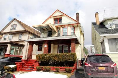 Buffalo NY Multi Family 2-4 P-Pending Sale: $69,888