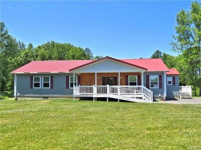 Orleans County Single Family Home A-Active: 15011 Marsh Creek Road