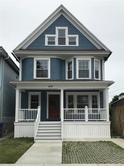Buffalo Single Family Home A-Active: 470 West Delavan Avenue