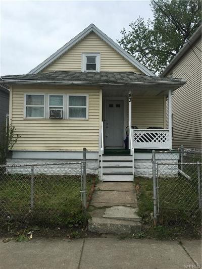 Lackawanna Single Family Home A-Active: 83 Holland Avenue