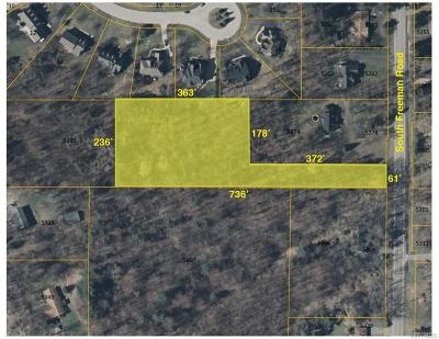 Orchard Park Residential Lots & Land A-Active: V/L South Freeman Road
