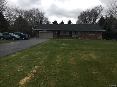 Genesee County Single Family Home A-Active: 7806 East Main Road
