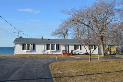 Single Family Home A-Active: 8455 Lower Lake Road