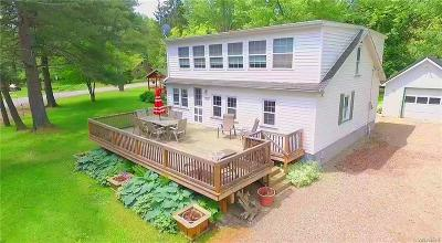Allegany County, Cattaraugus County Single Family Home U-Under Contract: 8115 Lakeshore Drive