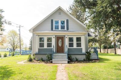 Lancaster Single Family Home A-Active: 6293 Genesee Street