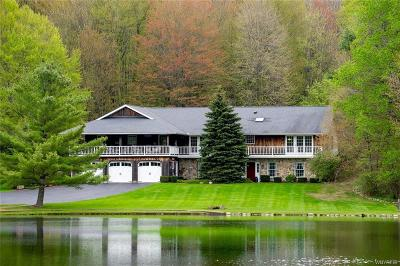 Erie County Single Family Home A-Active: 3335 Three Rod Road