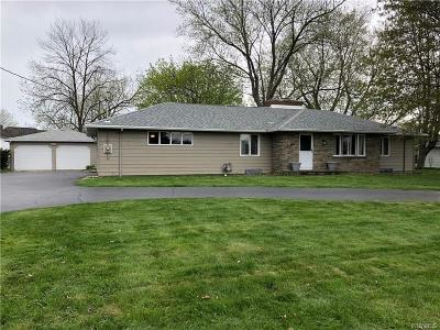 Orchard Park Single Family Home A-Active: 4952 South Freeman Road