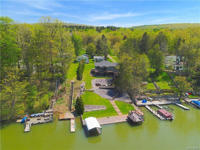 Allegany County, Cattaraugus County Single Family Home A-Active: 8112 County Road 49 #C