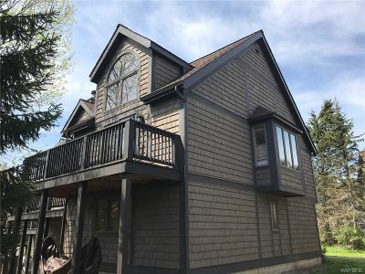 Ellicottville Condo/Townhouse A-Active: 91 Woods Rd-The Woods