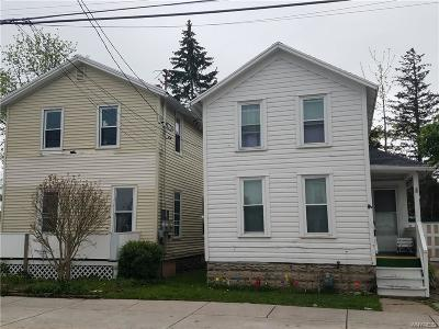 Allegany County, Genesee County, Livingston County, Ontario County, Steuben County, Wyoming County, Yates County Single Family Home A-Active: 7 1/2 Hutchins Street