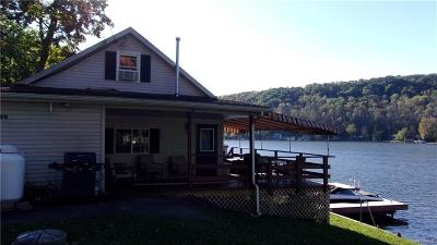 Allegany County, Cattaraugus County Single Family Home A-Active: 94 South Shore Road