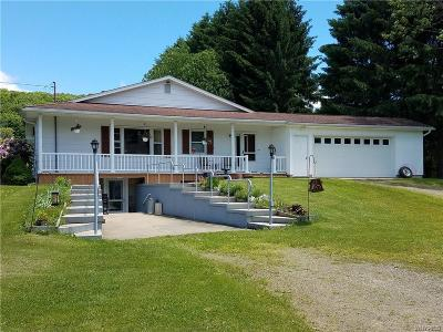 Cattaraugus Single Family Home A-Active: 9545 Beulow Hill Road