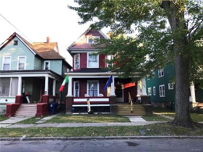 Niagara Falls NY Single Family Home P-Pending Sale: $32,500