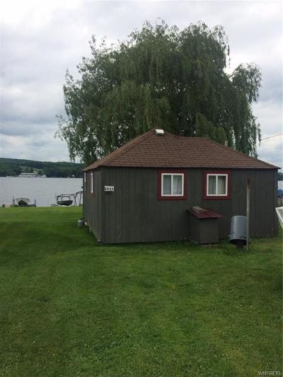Castile Single Family Home A-Active: 6695 East Lake Shore Drive