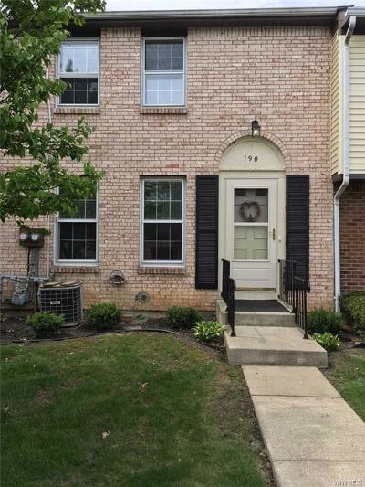 Orchard Park Condo/Townhouse A-Active: 190 Stepping Stone Lane
