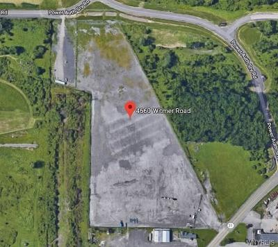 Niagara County Residential Lots & Land A-Active: 4660 Witmer Road