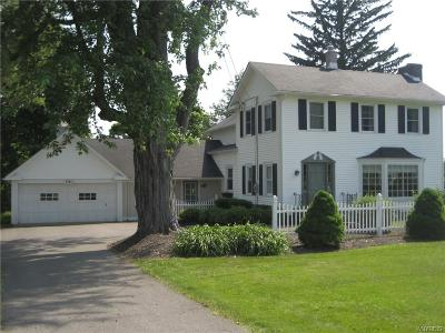 Orchard Park Single Family Home A-Active: 7985 Quaker Road