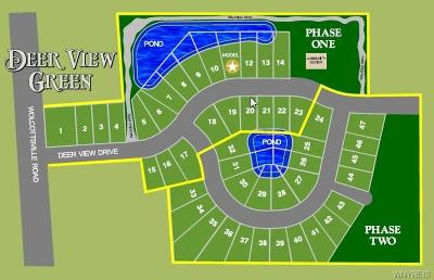 Niagara County Residential Lots & Land A-Active: 16 Deerview Drive