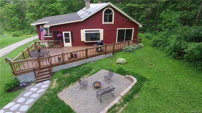 Orleans County, Monroe County, Niagara County, Erie County Single Family Home A-Active: 5227 Hunters Creek Road
