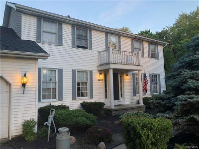 Orchard Park Single Family Home A-Active: 4805 Freeman Road