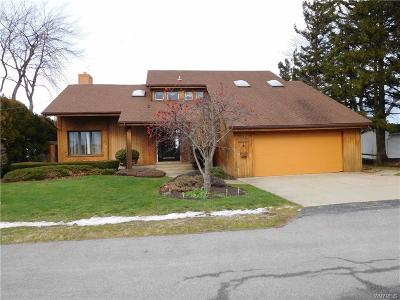 Niagara County Single Family Home A-Active: 5587 West Bluff