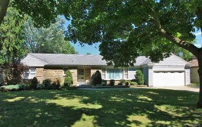 Wheatfield Single Family Home A-Active: 7647 Arnold Drive