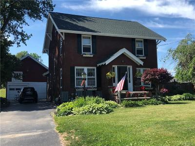 Genesee County Single Family Home A-Active: 4060 West Main Street Road